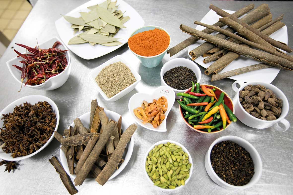 Spices, the essence to Indian food
